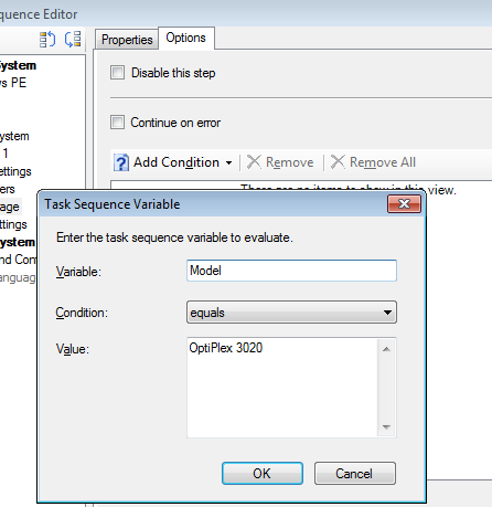 SCCM – Adding driver package to a task sequence | IT Blog